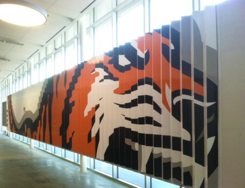 RIT's Gene Polisseni Center Sports Clever New Display Signage