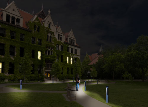 Solispost environmentally responsible lighting
