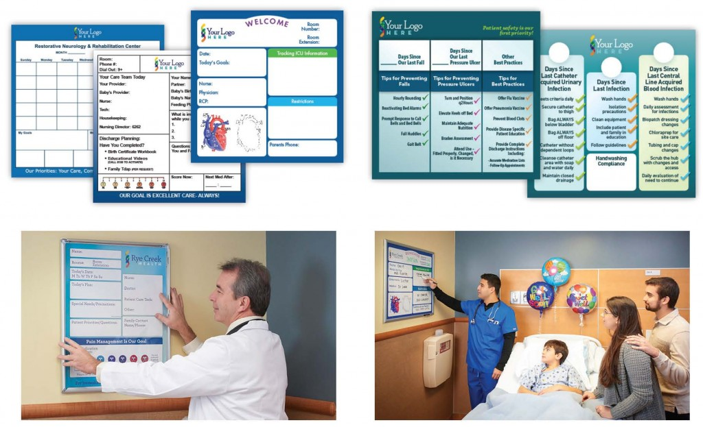 patient communication boards