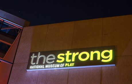 Strong National Museum of Play LED Illuminated Sign