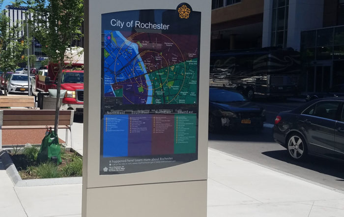 City of Rochester Wayfinding