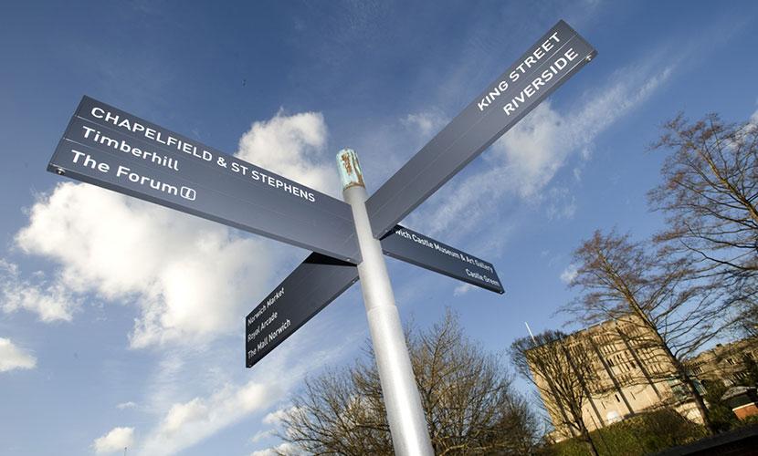 Via sign system