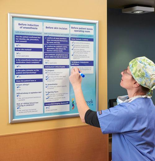 patient communication board