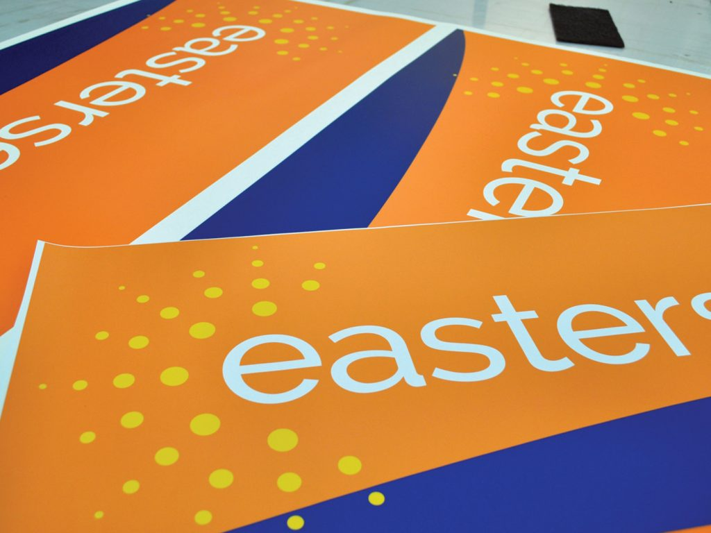 Easterseals brand identity with sign design guidelines