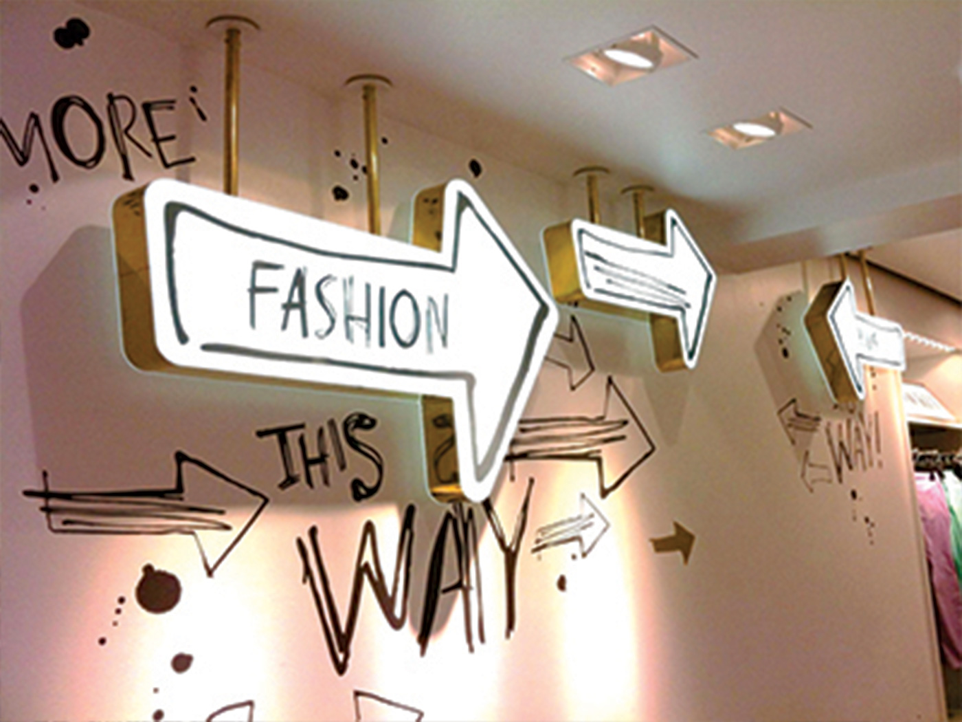 Retail Sign & Display Development Lightbox