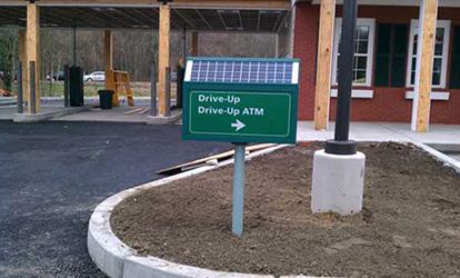 custom solar sign