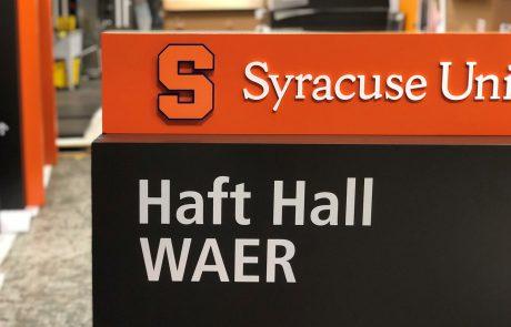 Design Facilitation of Syracuse University Wayfinding
