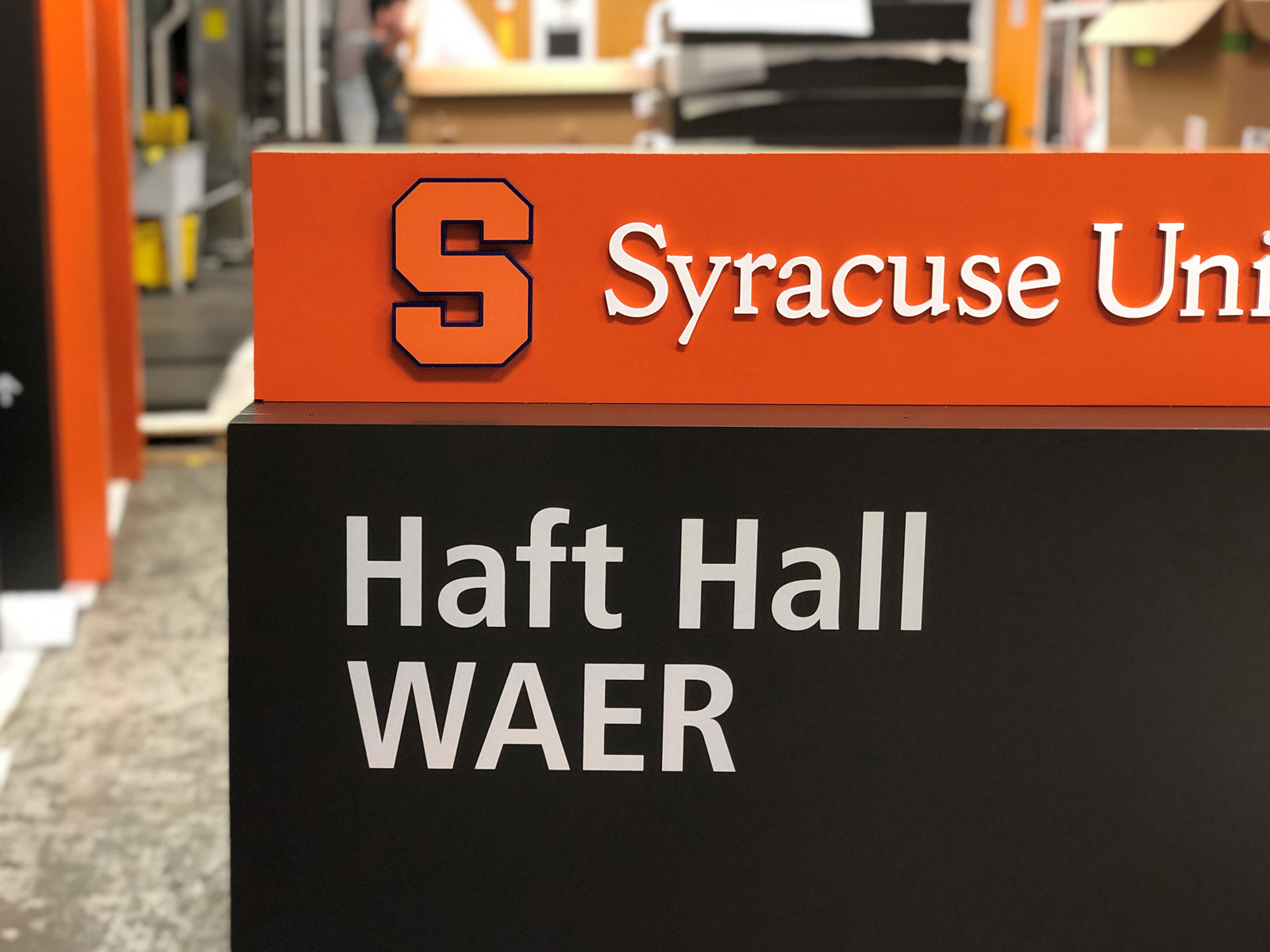 Design Facilitation of Syracuse University Wayfinding