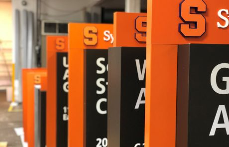 Syracuse University Wayfinding