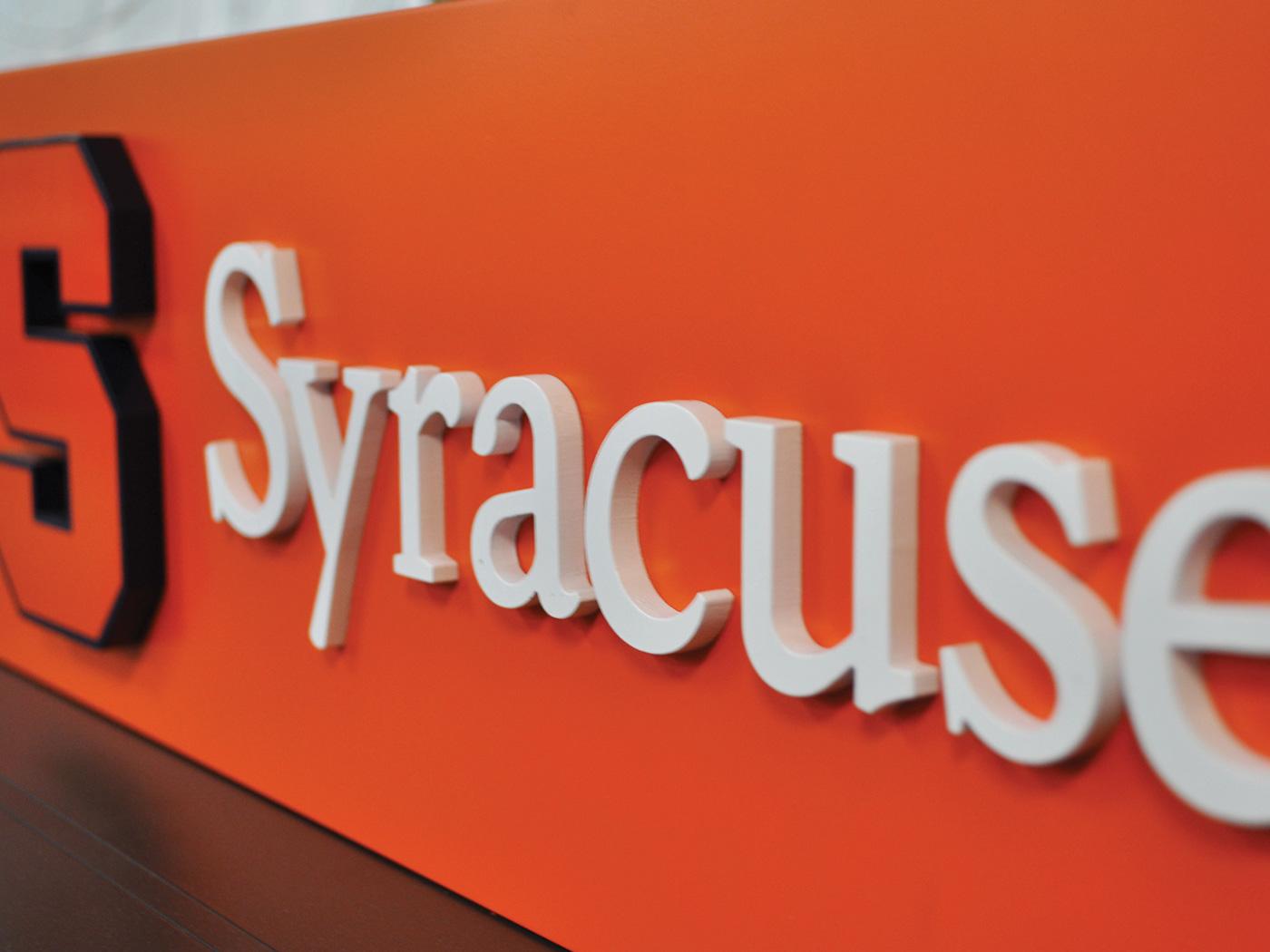 Syracuse University Wayfinding