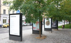 Vitrum display case