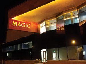 RIT Magic Illuminated Sign
