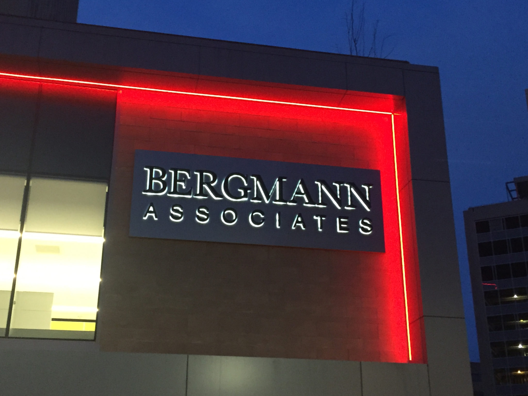 Bergmann Associates Outdoor Sign