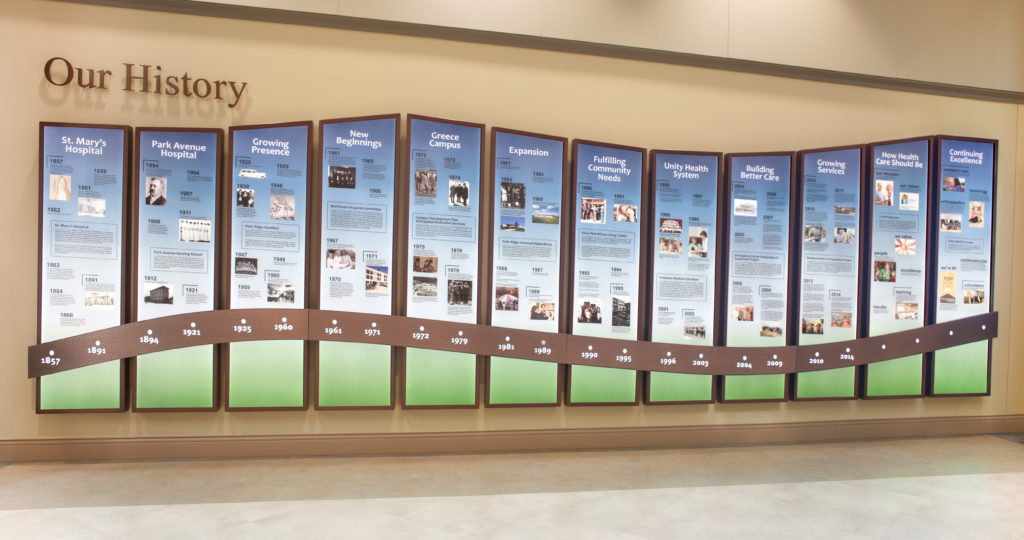 Healthcare Sign & Wayfinding donor recognition
