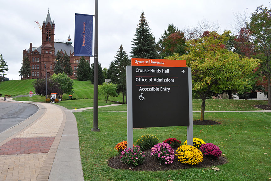Innovative Sign Design - Campus & Institutional Environments