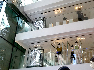 Innovative Sign Design - Retail Environments
