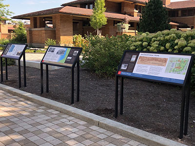 Innovative Sign Design - Parks, Trails & Landscape Features