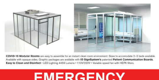 COVID Emergency Cleanrooms