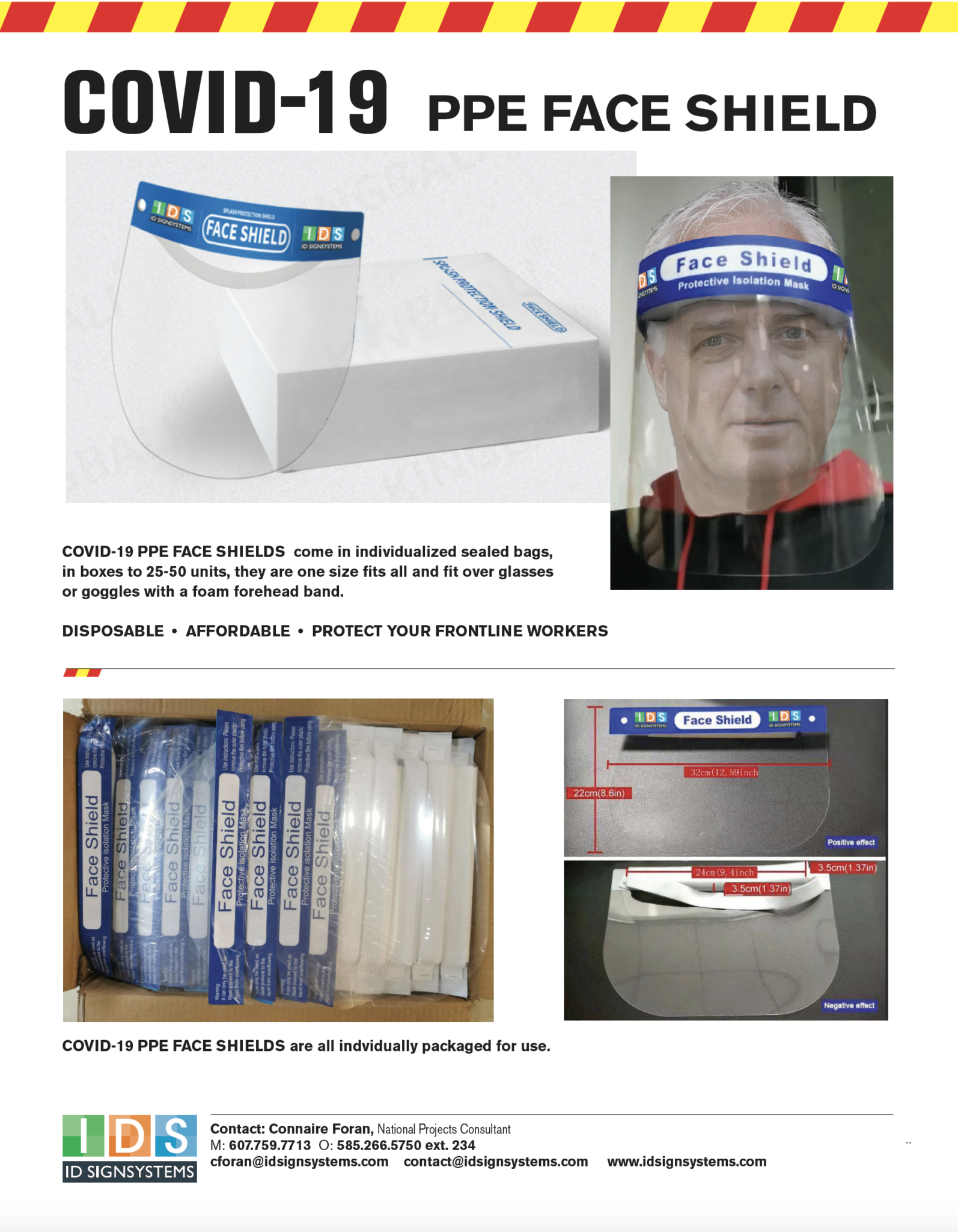 COVID-19 PPE Face Shields