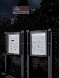 Solar Signage Urban Landscape Signage