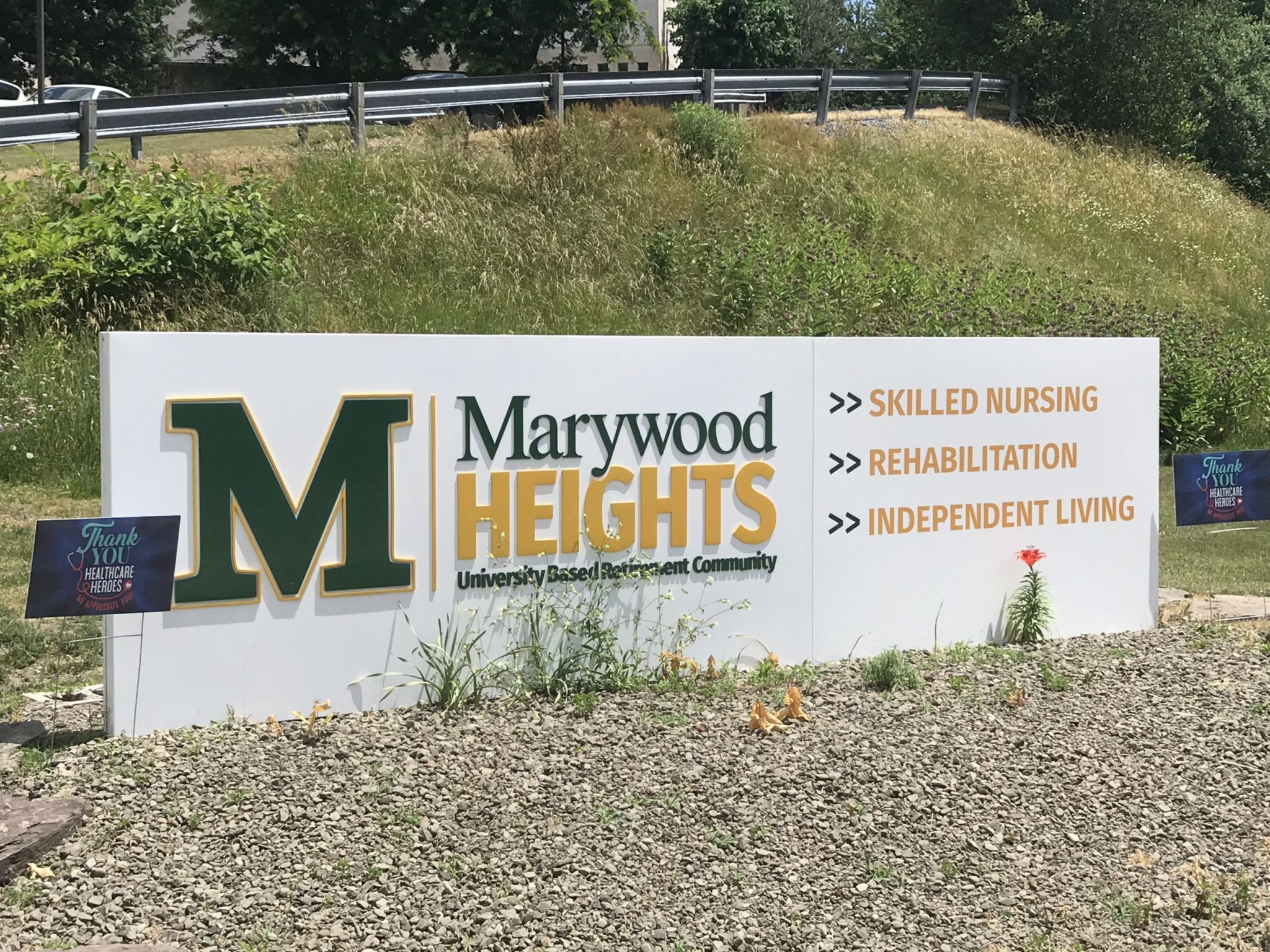 Marywood Architectural Signage