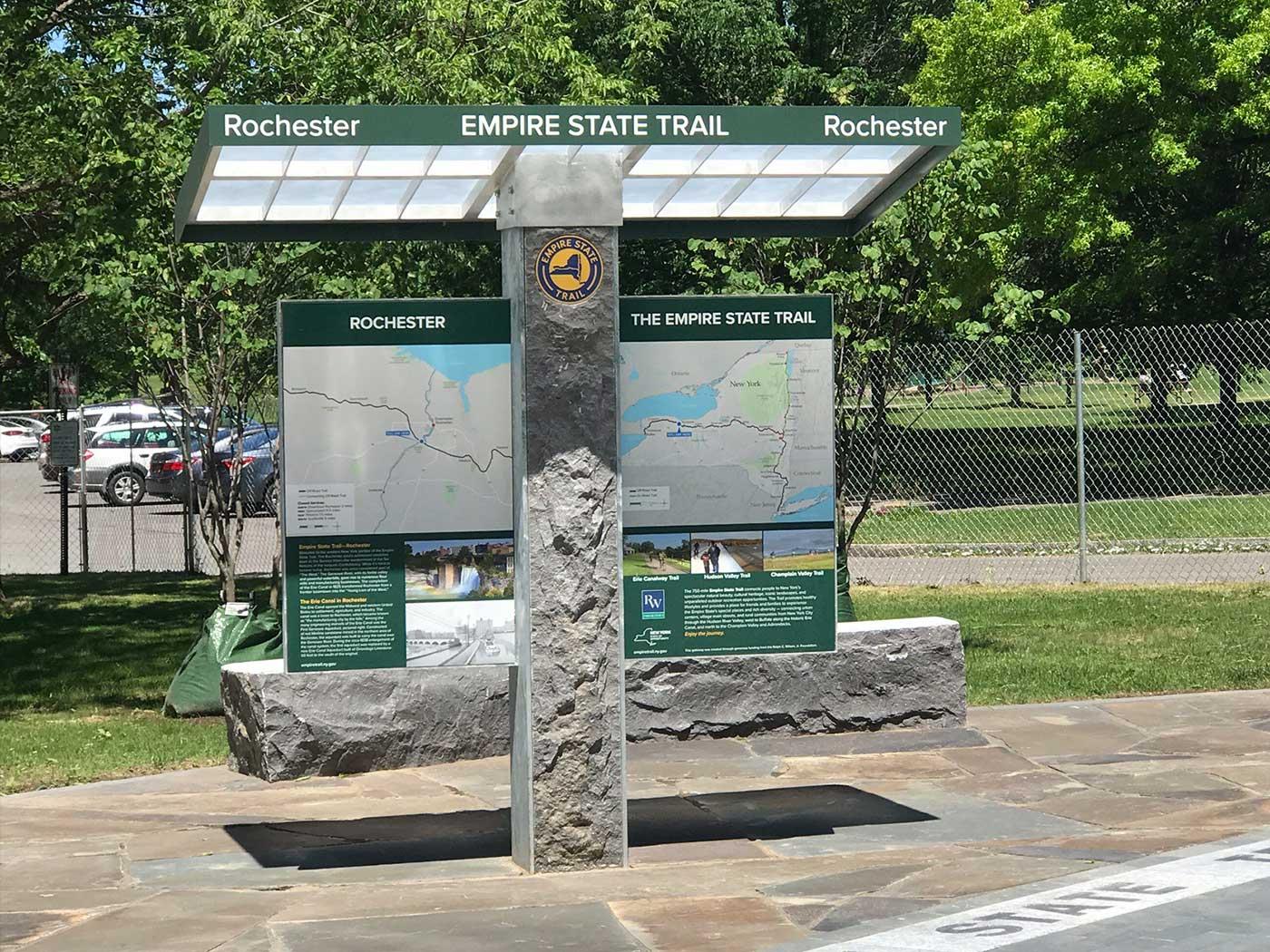 Landmark Signs - Empire State Trail