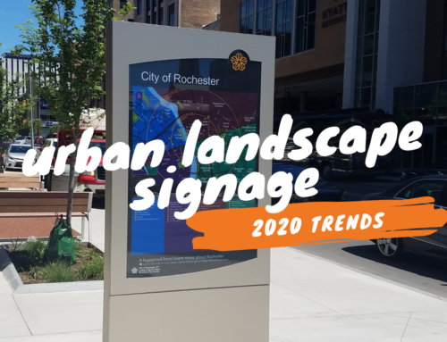 Urban Landscape Signage Trends in 2020