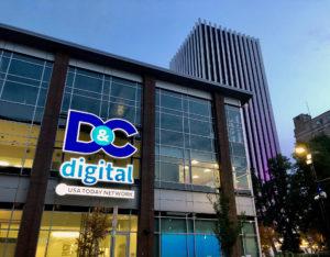 Illuminated Signage D&C Digital Logo