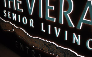 Lighted Sign The Viera