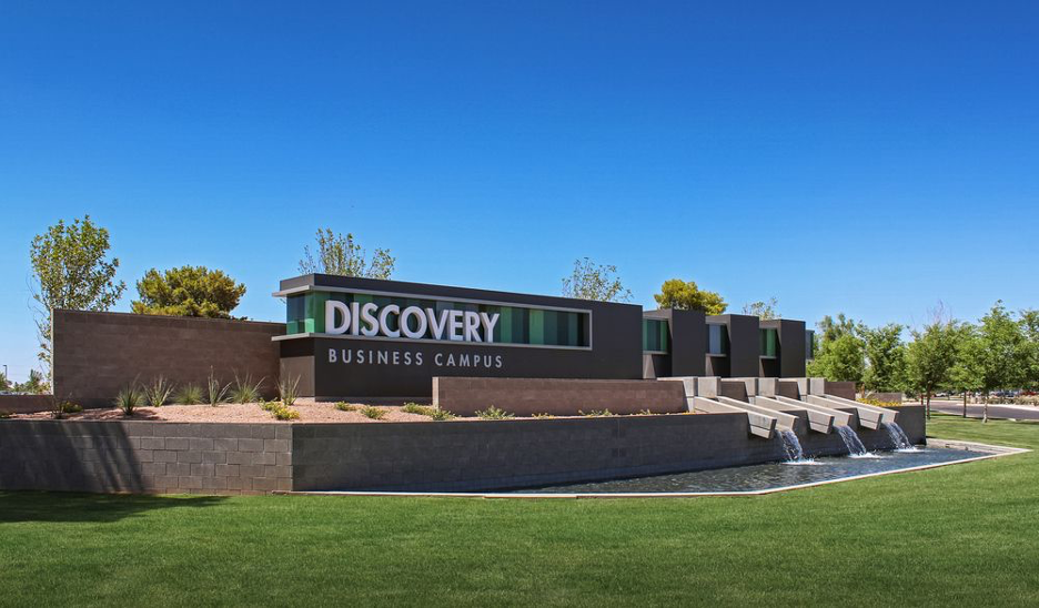 Innovative Corporate Sign at Discovery