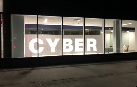 Sign Companies like ID Signsystems use design facilitation capabilities to partner with architects at RIT Cybersecurity