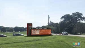 Rendering of Silver Hill Technology Industrial Park Signage