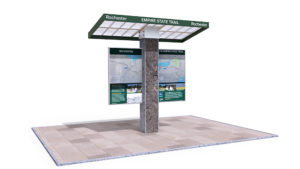Empire State Trail Kiosk