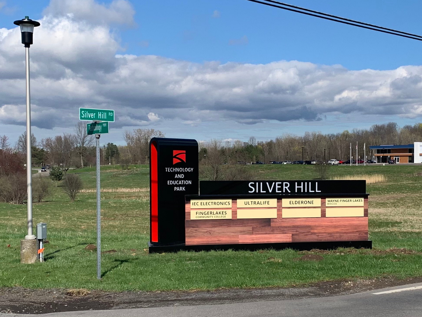 Silver Hill Ind. Park Sign