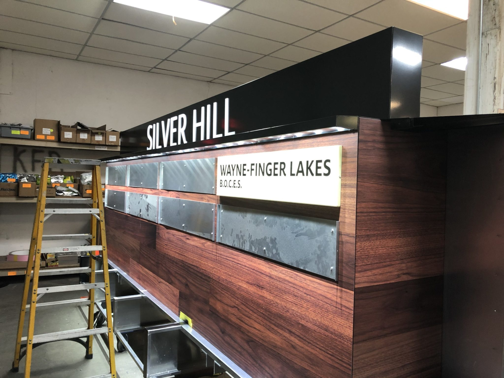 Silver Hill In Production