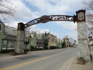 Town gateway - option for solar sign